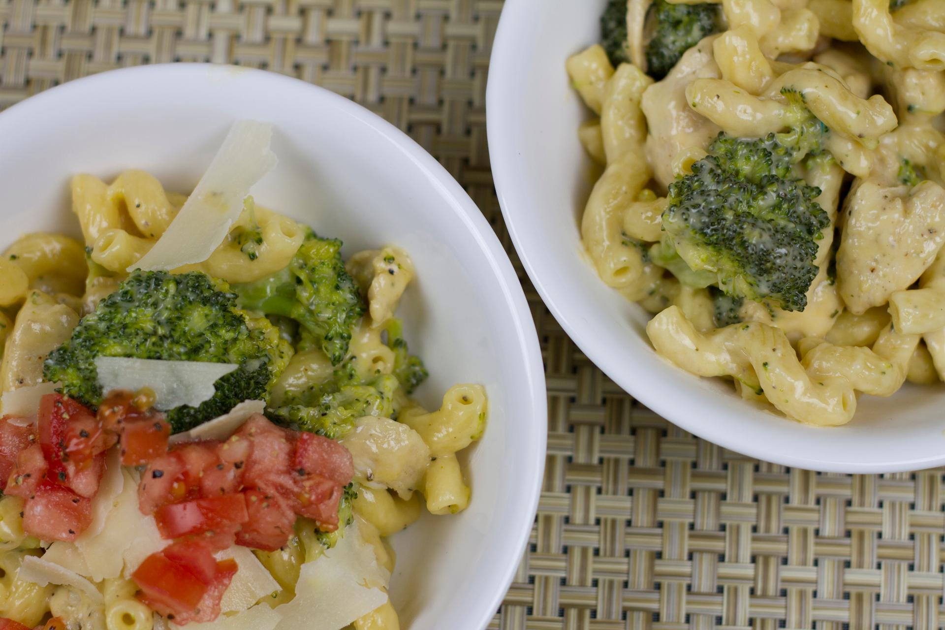 One-Pot cheesy chicken broccoli pasta